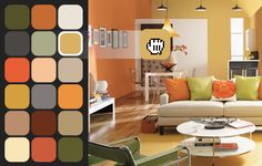 Color Visualizer - Sherwin-Williams. Drag and drop photos of rooms or items to virtually paint them. Great way to ensure you always buy the correct colours