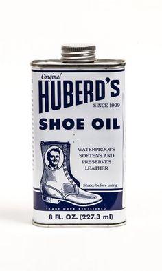 Shoe oil
