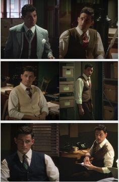 Agent Daniel Sousa and his Sweatervests. You know what that makes him??? An... InVESTigator!!!!! *ba dum tshhhh*