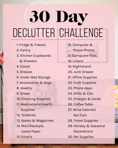 Exactly How I Plan To Declutter My Apartment In 30 Days As I have mentioned before, I struggle with the fact that I am just not inherently an organized person. While, yes, I successfully manage to use a bullet journal and keep my work life under