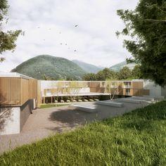 AM3 vence concurso para projetar um colégio interno em Malles, Itália