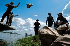 ドイツのエルベ川堤防決壊で避難拡大