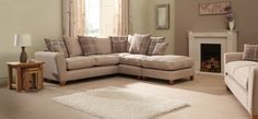 Lois Corner Chaise Group RHF Scatter Back                                                                                                                                                     More