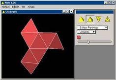 POLY PRO é um programa de exibição de poliedros e suas respectivas  planificações.