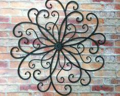 Pared de metal desplazamiento/pared Wall por TheShabbyStore en Etsy