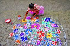 Image result for indian flower art
