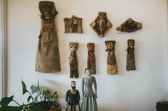 Constanza y Francisco, artista y arqueólogo