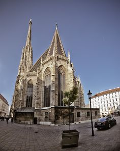 Stephansdom Halle, Honeymoon Pictures, Chor, Amazing Grace, Kirchen, Vienna, Barcelona Cathedral, Building, Photography