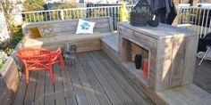 Celebesstraat | Wooden Lounge and Bar