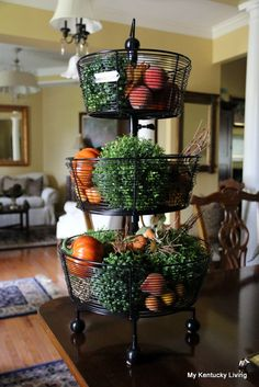 Styling My Tiered Tray for Fall - My Kentucky Living