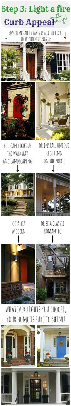 Curb Appeal {on the cheap}! 6 steps to achieving gorgeous curb appeal with just a little $.
