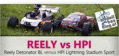 Frisch gebloggt: REELY Detonator Brushless 4WD vs HPI Hot Bodies - Lightning Stadium Truck.    http://rc-modellbau-blog.com/2012/11/reely-detonator-brushless-4wd-vs-hpi-hot-bodies-lightning-stadium-truck/