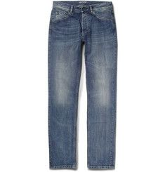 Bottega VenetaSlim-Fit Washed Denim Jeans.  490