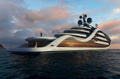 New 130m superyacht concept Epiphany | SuperYacht Times