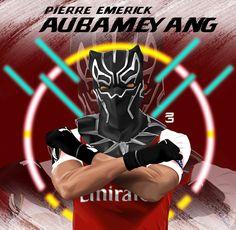 Aubameyang Arsenal, Digital Art, Behance, Darth Vader, Photoshop, Football, Cartoon, Gallery, Illustration