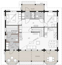 Modern House Plans, Humble Abode, Aspen, Garage, Villa, Floor Plans, Flooring, How To Plan, Mamma