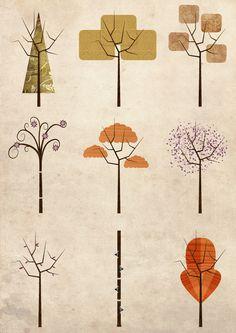 Trees  by InWONDER