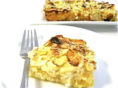 A Super Delicious Skinny Passover Noodle Kugel. http://www.skinnykitchen.com/recipes/a-super-delicious-skinny-passover-noodle-kugel/