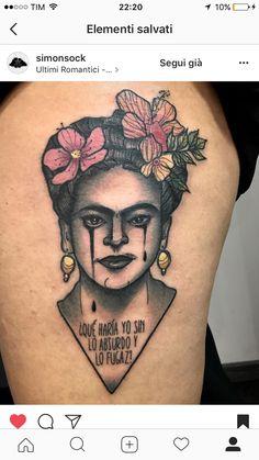 Frida tatto @simonsock