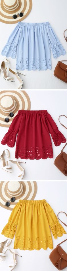 $13.49 Top,Outfits,Blouses,Tees,T-shirt,Tank top,Crop top,Shirts,Off shoulder blouses,Off the shoulder tops,Halter top,Tunic tops,to find different top ideas @zaful Extra 10% OFF Code:ZF2017