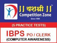 IBPS PO - CLERK Computer Awareness 5 Practice Tests