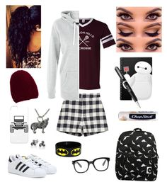 """What The Hell Is A Stiles?"" by brierandy ❤ liked on Polyvore featuring Forever 21, Bling Jewelry, Harrods, Inverni, adidas, Zara and Chapstick"