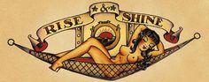 Rise & Shine navy tattoo