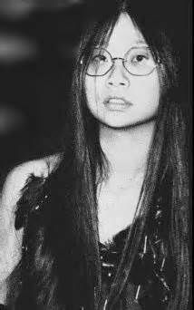 "May Pang... John Lennon's girlfriend for ""The lost weekend"" in the 70's.  She wrote the book ""Loving John"""