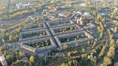 Nikiszowiec z lotu ptaka - widok na Górny Śląsk - ExploreTheWorld City Photo