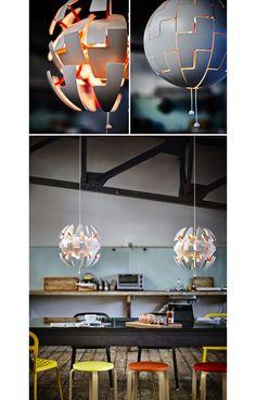 IKEA PS 2014 Pendant lamp white copper color