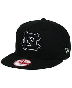 799cd9552 New Era North Carolina Tar Heels Black White 9FIFTY Snapback Cap Black And  White Colour