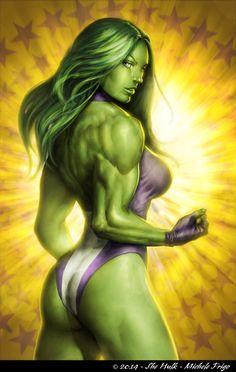 She-Hulk by Michele Frigo
