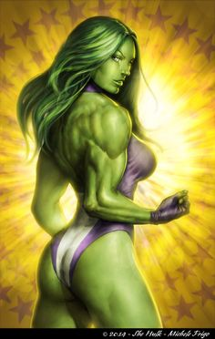 She-Hulk by Michele Frigo