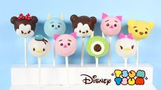 Disney Tsum Tsum cake pops that are almost too cute to eat! Enjoy, and make sure to share pictures of your treats on Facebook and Instagram with the hashtag ...
