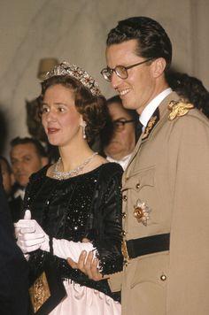 Rey Balduino I y Reina Fabiola de los Belgas