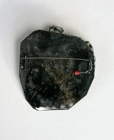 Inari Kiuru  sterling, mild steel, enamel