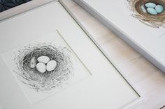 just the bee's knees: How to make your own photo mats