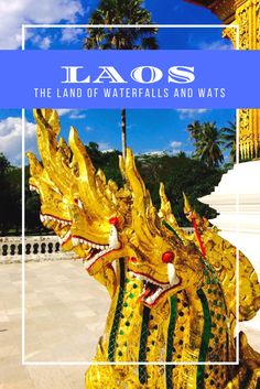 Laos is the land of waterfalls and wats. From breath-taking landscapes swathed in stunning waterfalls to innumerable wats (temples) scattered across the Laos Travel, China Travel, Japan Travel, Travel Abroad, Travel Guides, Travel Tips, Travel 2017, Travel Advice, Travel Couple
