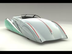 2009 Delahaye USA Sultan Renderings - Silver Rear Angle - John Caswell Please tell me this is real?