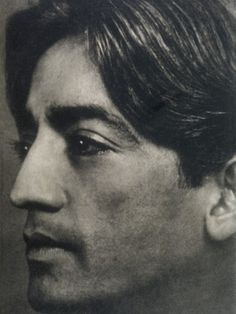 Indian Spiritual Teacher, Jiddu Krishnamurti (1895-1985)  I started reading his books in my 20's and his words were like a bright light flooding my consciousness....a life changing experience.