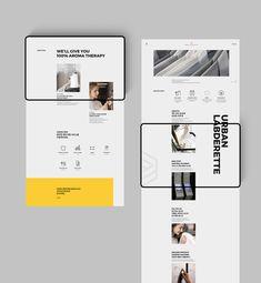 어반런드렛 반응형 웹 사이트   스튜디오 제이티 Web Layout, Layout Design, Ui Ux Design, Business Web Design, Web Mockup, Graphic Projects, Ui Web, Smart City, Layout Inspiration