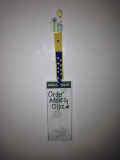 This is one of our medium-size birthday clips