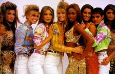 The Gianni Versace era — along with the iconic Versace girls — represent the boldness of '90s fashion, and Donatella Versace channeled that ...