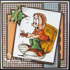 Kenny K: Boy Gamer heidy,s scrappies: februari 2012