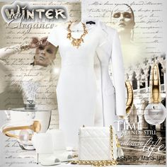 Winter Strict Elegance, created by mariajalil on Polyvore