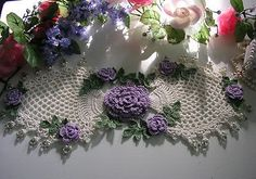 made to order set of 2 crochet doilies di KroneCrochet su Etsy