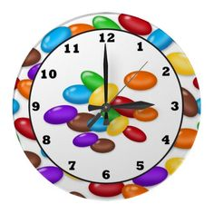 Candy Drops sweet treat wall clock