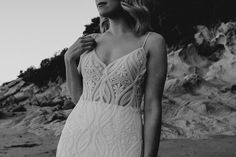 Jamie — Wild + White Bridal Bohemian Bride, Cut Out Design, White Bridal, Fitted Bodice, White Dress, Gowns, Wedding, Beautiful, Collection