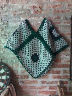 Poncho en crochet