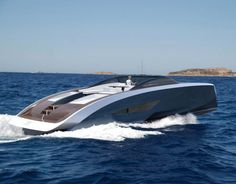 The makers of the world's fastest production super sports car, Bugatti, and the world's largest motor yacht builder, Palmer Johnson, are embarking on a joint project.